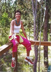 Martha having chemotherapy, Noosa - July 2001