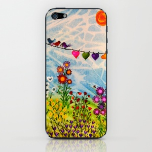 Birds on Wire phone cover from $US15
