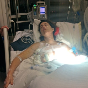 Me in intensive care - v attractive!