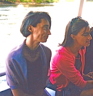 Lou &  Sarah  on boat copy – Version 2